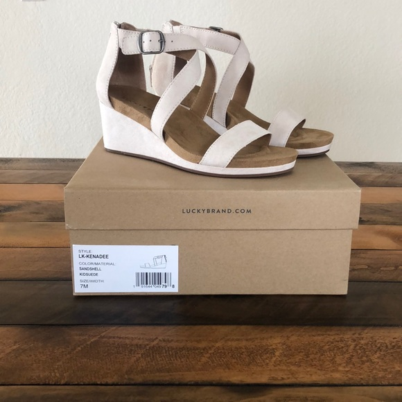 0f36df879923 Lucky Brand Kenadee Wedge
